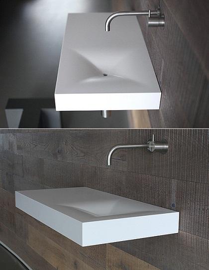 Uma cuba de banheiro inspirada no icônico sofá Chesterfield  Arquitecasa -> Cuba Banheiro Grande