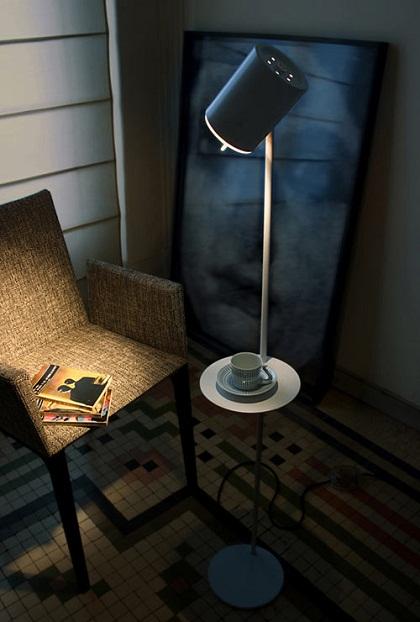 Luminária agrega prazer da leitura ao design sofisticado
