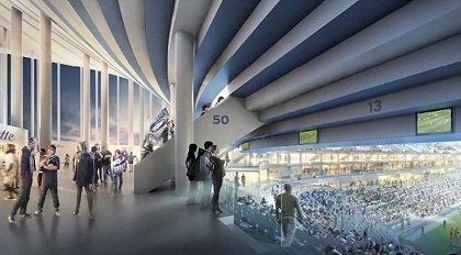 Cine Arquitecasa: o belo estádio do Bordeaux