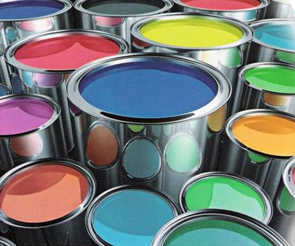 Tinta produzida a partir de lixo industrial