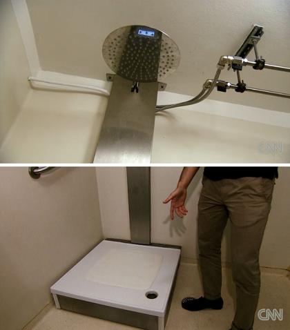 Empresa sueca cria chuveiro que recicla água do banho