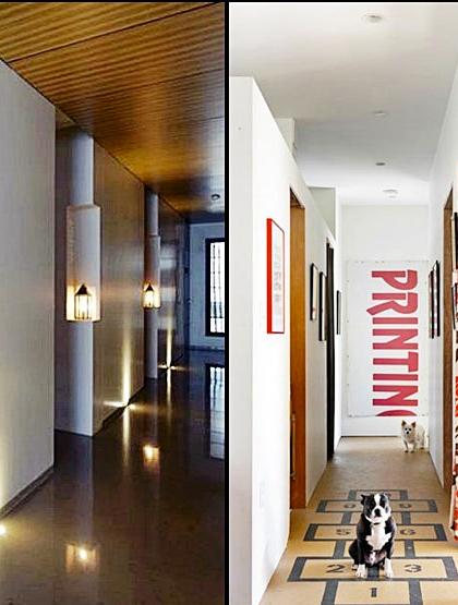 10 dicas geniais para decorar seu corredor.