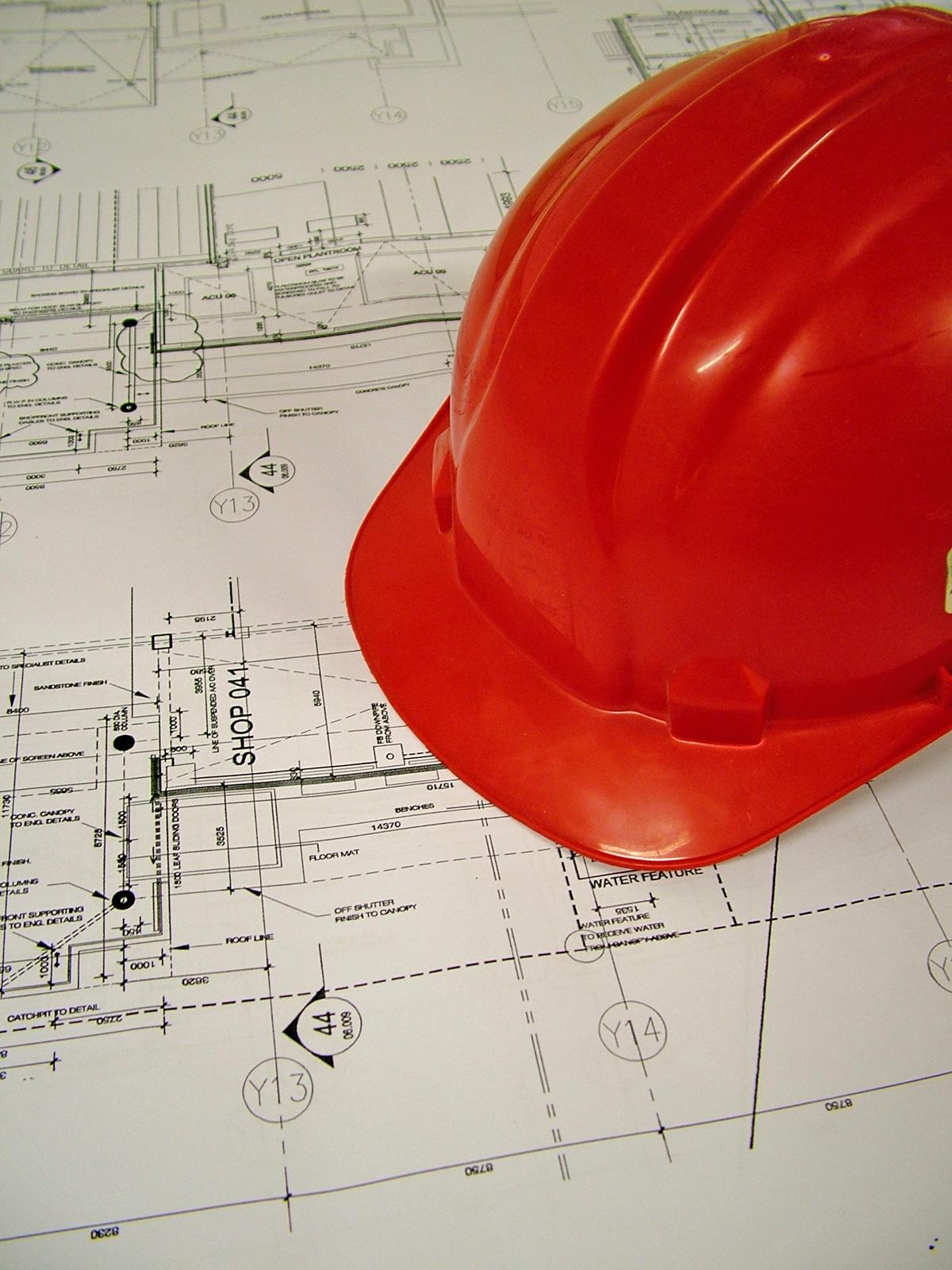Profissionais de projeto e obra