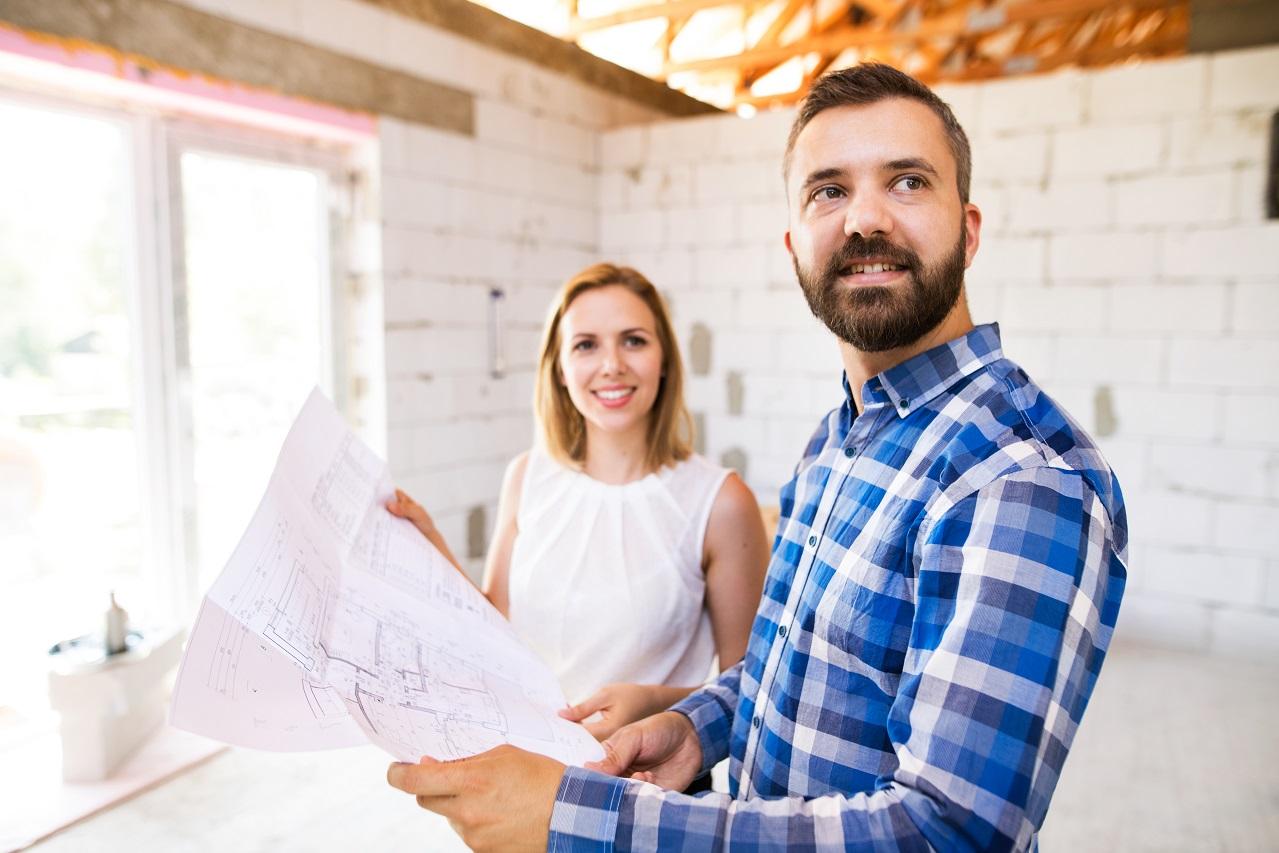 Crédito para reforma e construção residencial